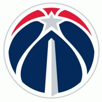 Washington Wizards Alternate Logo  Light Iron-on Stickers (Heat Transfers) version 2