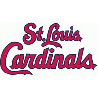 St. Louis Cardinals Script Logo  Light Iron-on Stickers (Heat Transfers) version 2