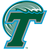 1998-Pres Tulane Green Wave Primary Logo Light Iron-on Stickers (Heat Transfers)
