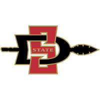 2002-Pres San Diego State Aztecs Primary Logo Light Iron-on Stickers (Heat Transfers)