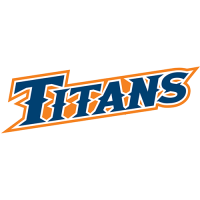 Cal State Fullerton Titans 2010-Pres Wordmark Logo Light Iron-on Stickers (Heat Transfers)