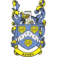 Ashby Coat of Arms Light Iron On Stickers (Heat Transfers)