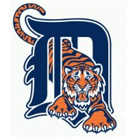 Detroit Tigers Primary Logo  Light Iron-on Stickers (Heat Transfers)