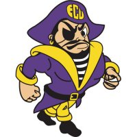 1999-Pres East Carolina Pirates Mascot Logo