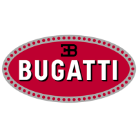 Bugatti Logo Light Iron On Stickers (Heat Transfers) 1