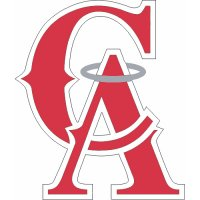Los Angeles Angels of Anaheim Cap Logo  Light Iron-on Stickers (Heat Transfers)