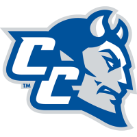 CCSU Blue Devils 2012-Pres Secondary Logo Light Iron-on Stickers (Heat Transfers)