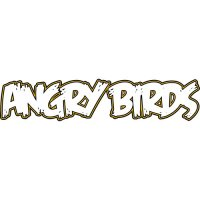 Angry Birds Logo Light Iron On Stickers (Heat Transfers) version 1