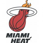 Miami Heat Iron Ons