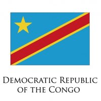 DEMOCRATIC REPUBLIC OF THE CONGO Flags light iron ons