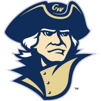 George Washington Colonials 2008-Pres Secondary Logo Light Iron-on Stickers (Heat Transfers)
