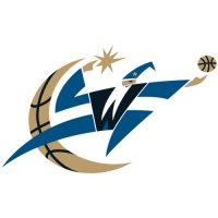 Washington Wizards Alternate Logo  Light Iron-on Stickers (Heat Transfers) version 1