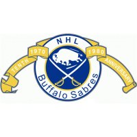 Buffalo Sabres Anniversary Logo  Light Iron-on Stickers (Heat Transfers) version 1