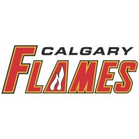 Calgary Flames Script Logo  Light Iron-on Stickers (Heat Transfers) version 1
