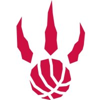 Toronto Raptors Alternate Logo  Light Iron-on Stickers (Heat Transfers) version 1