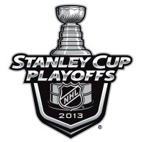 NHL Playoffs Primary logo 2013 Light Iron-on Stickers (Heat Transfers)