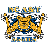 2006-Pres North Carolina A&T Aggies Secondary Logo Light Iron-on Stickers (Heat Transfers)