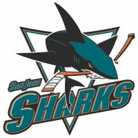 San Jose Sharks Alternate Logo  Light Iron-on Stickers (Heat Transfers) version 2
