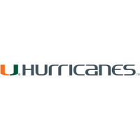 2000-Pres Miami Hurricanes Wordmark Logo Light Iron-on Stickers (Heat Transfers)