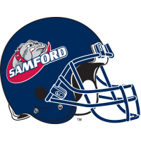2000-Pres Samford Bulldogs Helmet Logo Light Iron-on Stickers (Heat Transfers)