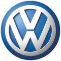 Volkswagen logo light t shirt iron on transfer version 1