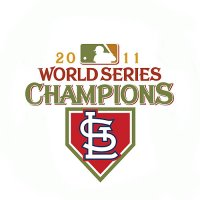 World Series Champions Primary Logo  Light Iron-on Stickers (Heat Transfers)