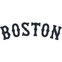 Boston Red Sox Script Logo  Light Iron-on Stickers (Heat Transfers) version 3
