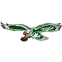 Philadelphia Eagles Primary Logo  Light Iron-on Stickers (Heat Transfers)