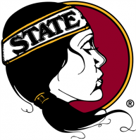 Florida State Seminoles Pres Misc Logo Light Iron-on Stickers (Heat Transfers)
