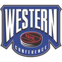 Western Conference Primary Logo  Light Iron-on Stickers (Heat Transfers)