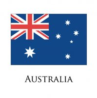 AUSTRALIA Flags light iron ons