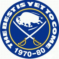 Buffalo Sabres Anniversary Logo  Light Iron-on Stickers (Heat Transfers) version 2