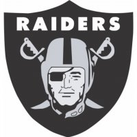 Oakland Raiders Primary Logos  Light Iron-on Stickers (Heat Transfers)