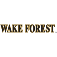 2007-Pres Wake Forest Demon Deacons Wordmark Logo Light Iron-on Stickers (Heat Transfers)