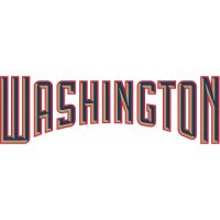 Washington Nationals Script Logo  Light Iron-on Stickers (Heat Transfers)