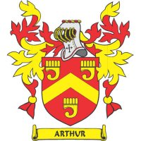 Arthur Coat of Arms Light Iron On Stickers (Heat Transfers)