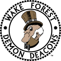Wake Forest Demon Deacons 1968-1992 Primary Logo1 Light Iron-on Stickers (Heat Transfers)