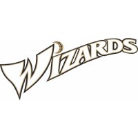 Washington Wizards Script Logo  Light Iron-on Stickers (Heat Transfers) version 2