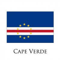 CAPE VERDE Flags light iron ons