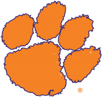 Clemson Tigers 1976-Pres Alternate Logo Light Iron-on Stickers (Heat Transfers)