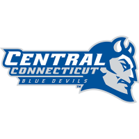 CCSU Blue Devils 2012-Pres Primary Logo Light Iron-on Stickers (Heat Transfers)