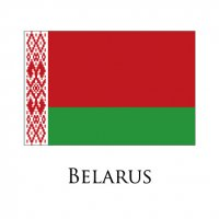 BELARUS Flags light iron ons