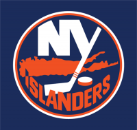 New York Islanders 2007 08-2009 10 Jersey Logo Light Iron-on Stickers (Heat Transfers)