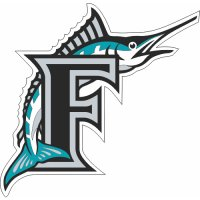 Florida Marlins Cap Logo  Light Iron-on Stickers (Heat Transfers)