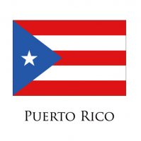 PUERTO RICO Flags light iron ons