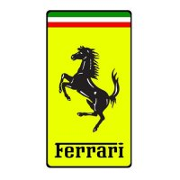 Ferrari Logo Light Iron On Stickers (Heat Transfers) 2