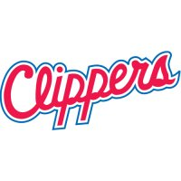 Los Angeles Clippers Script Logo  Light Iron-on Stickers (Heat Transfers) version 1