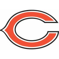 Chicago Bears Primary Logo  Light Iron-on Stickers (Heat Transfers)
