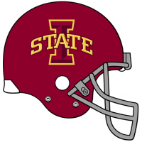 Iowa State Cyclones 2008-Pres Helmet Logo Light Iron-on Stickers (Heat Transfers)