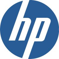 HP logo light t shirt iron on transfer